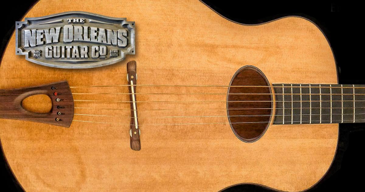 custom guitar maker luthier new orleans guitar company. Black Bedroom Furniture Sets. Home Design Ideas